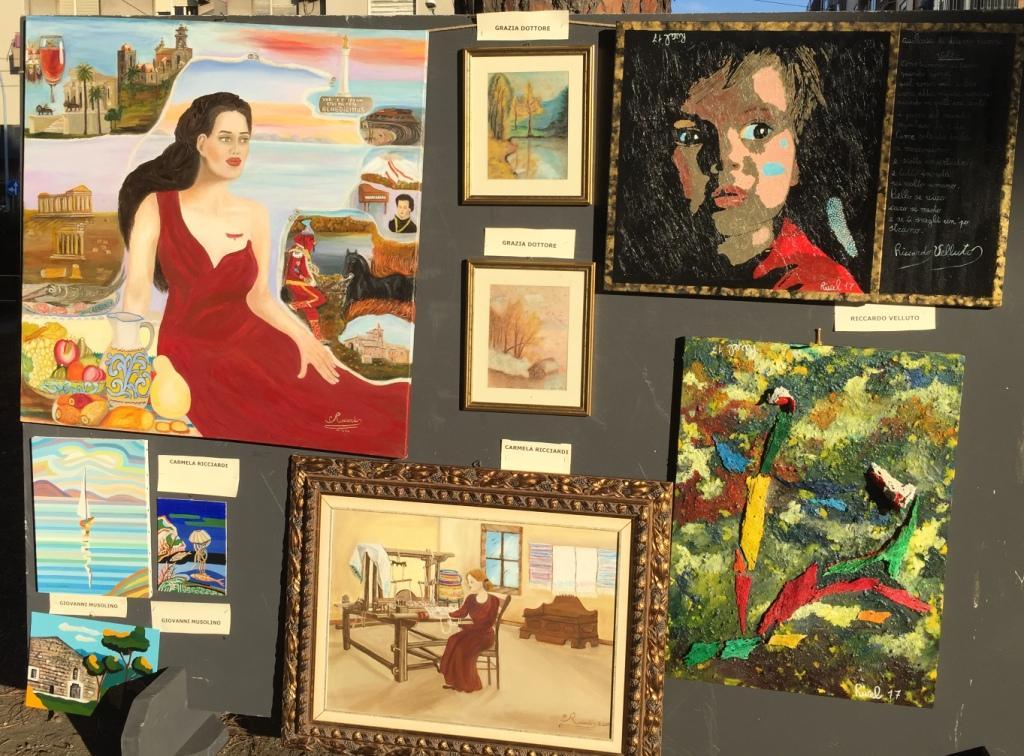 Messina, inaugurata la collettiva di pittura &#39;<b>Arte</b> in Villa&#39; a cura di Titti Crisafulli
