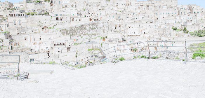 Matera La Città Di Pietra Diventa Un Acquerello Nelle Foto Di