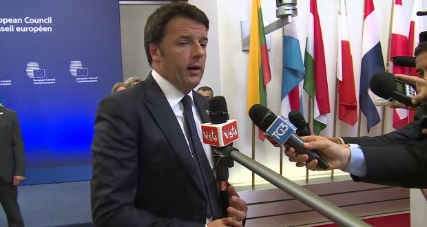 Renzi a Bruxelles: