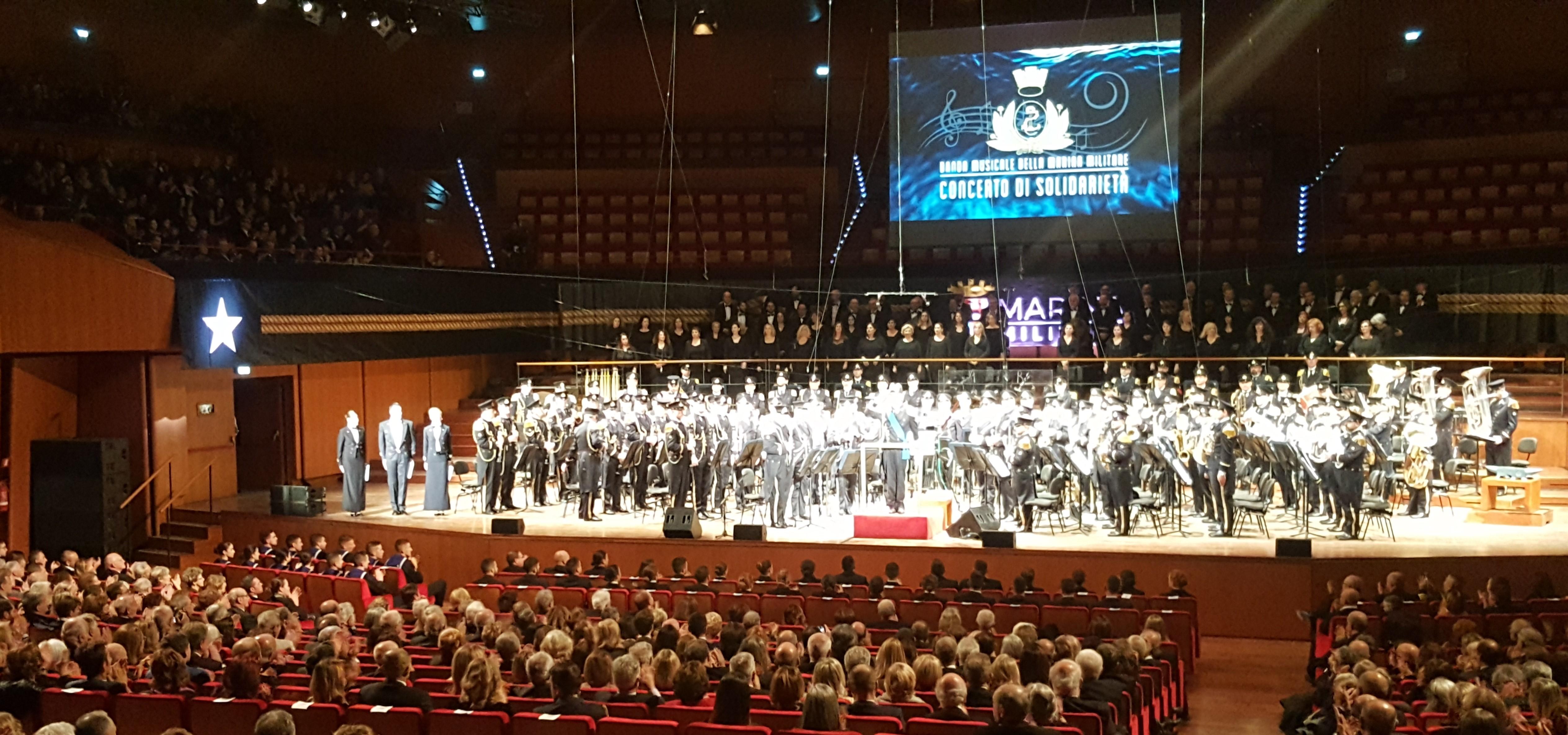 Calendario Marina Militare 2020.La Banda Musicale Della Marina Militare In Concerto Di