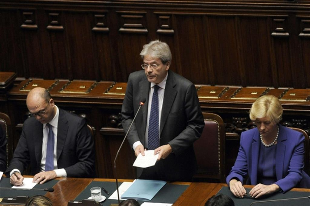 Il governo gentiloni ottiene la fiducia alla camera for Presenze camera deputati