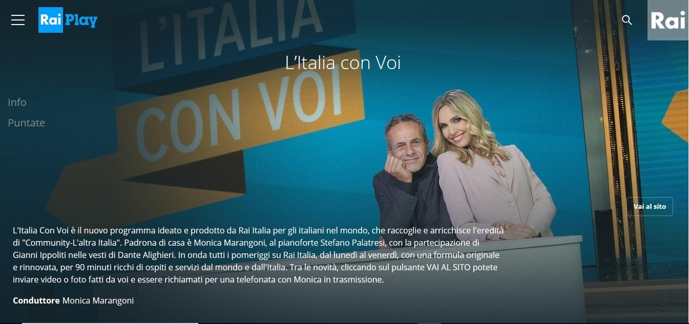 L Italia con Voi con Carla Fracci su Rai Italia.1 marzo 2019  417220dc81f