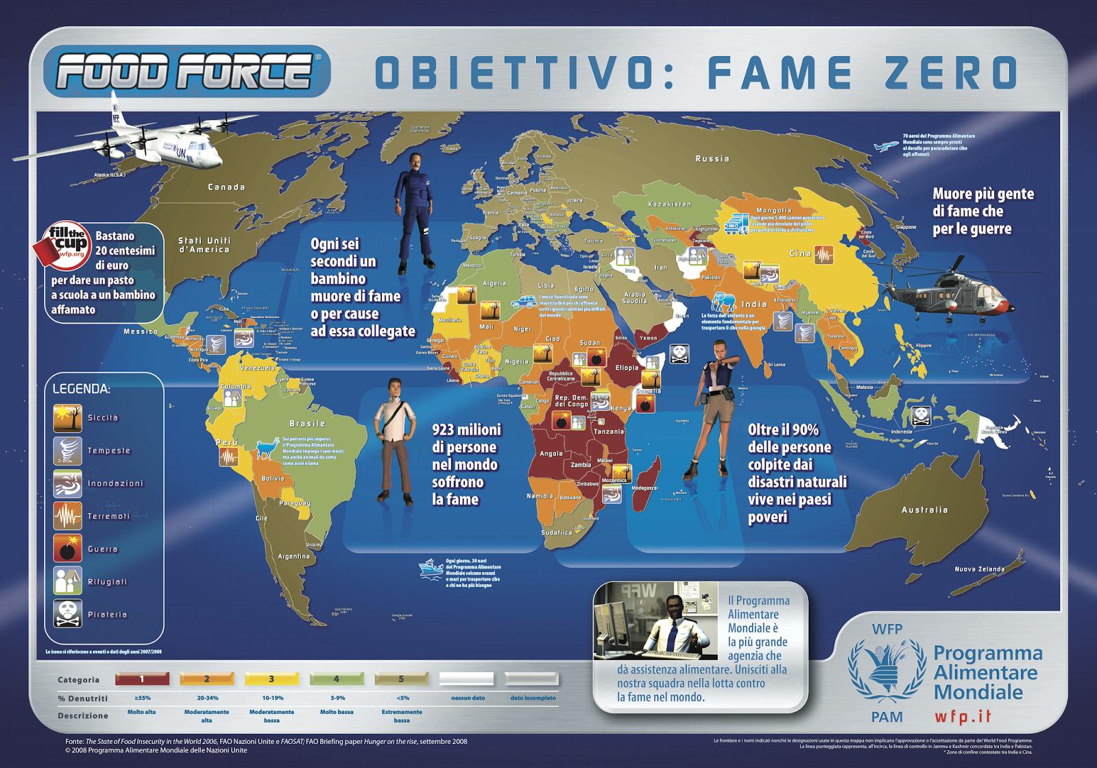 Cartina Fame Nel Mondo.Giornata Della Fame Paese Italia Press