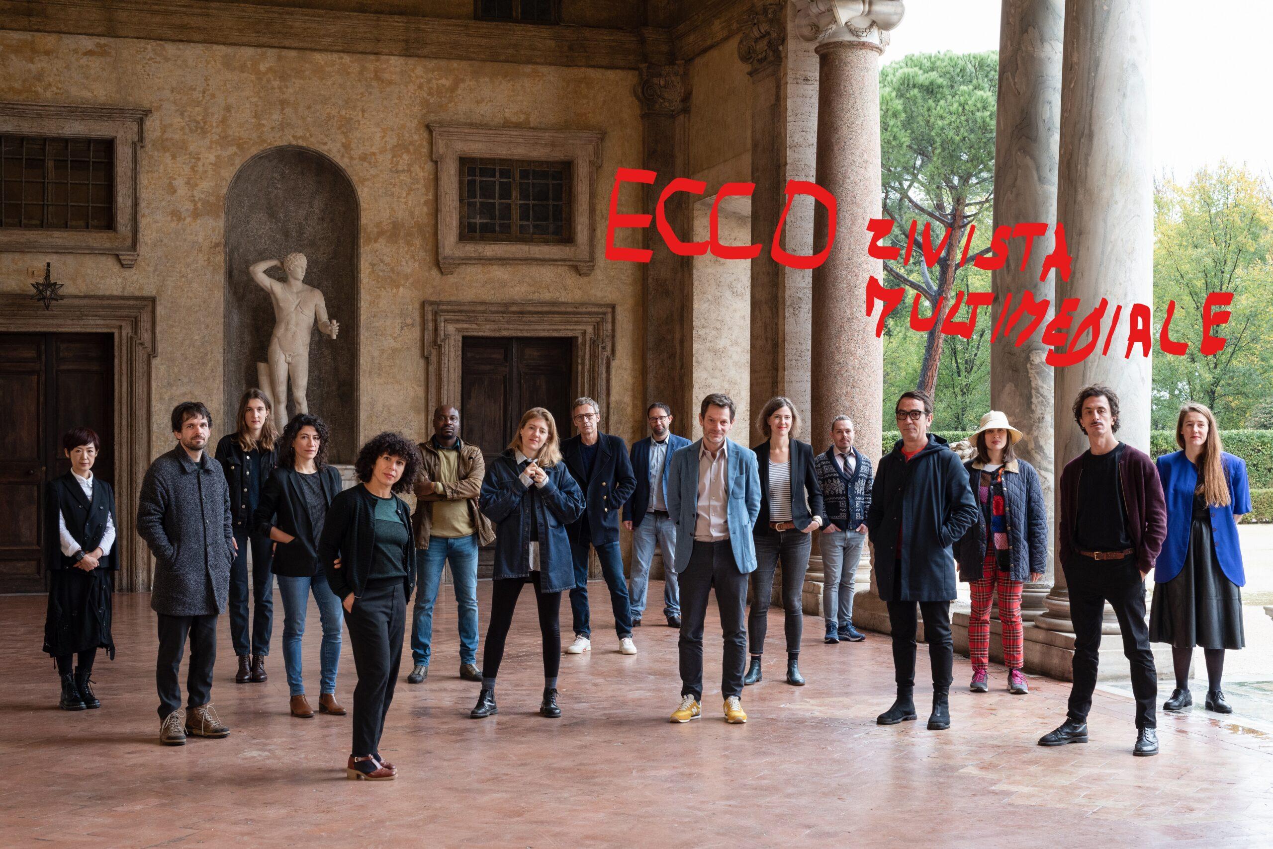ECCO: i borsisti dell'Accademia di Francia a Roma – Villa Medici, lanciano la nuova rivista online sperimentale e multiforme