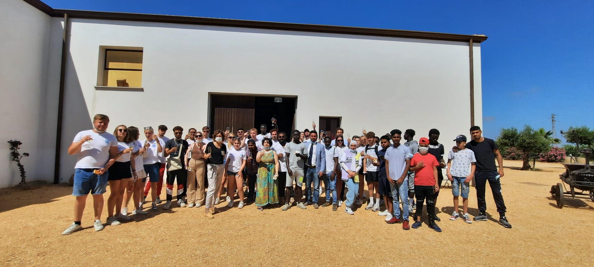 Internship camp, l'esperienza in Sicilia di 50 studenti stranieri