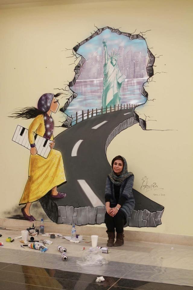 Shamsia Hassani: Le immagini come mille parole