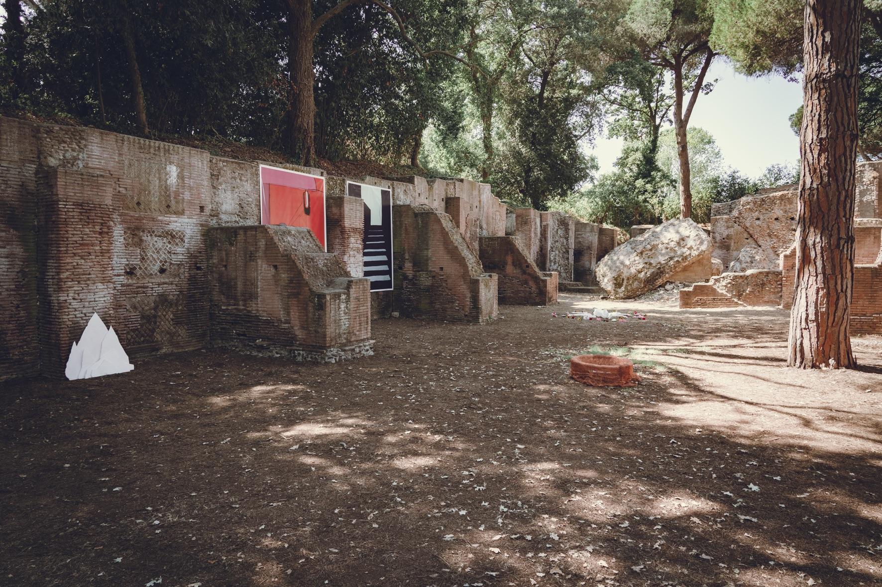 """Fiumicino, 75 artisti """"fuori confine"""" nel parco archeologico"""